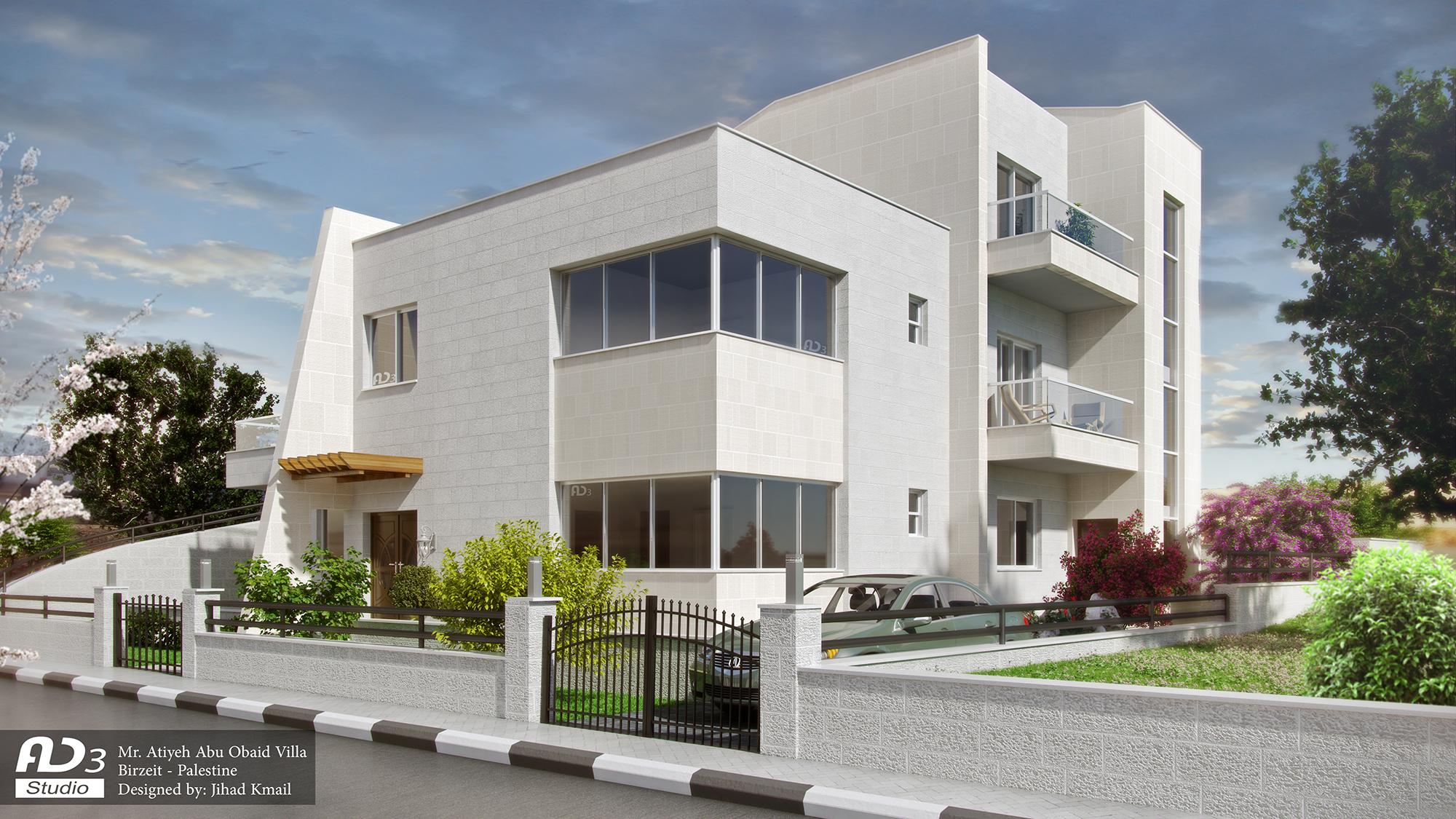 Atiyeh Abu Obeid Villa
