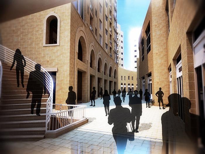 Rawabi Town Center
